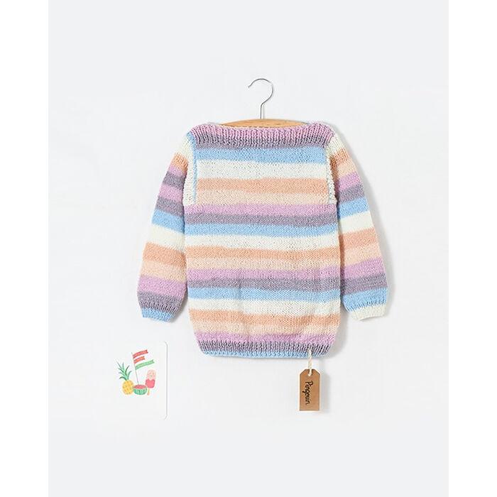 Modèle enfant - Pull rayé Pingo First