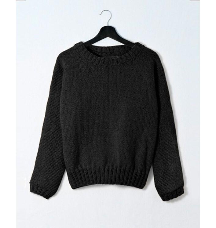 Modèle femme - Pull Swan Infini noir