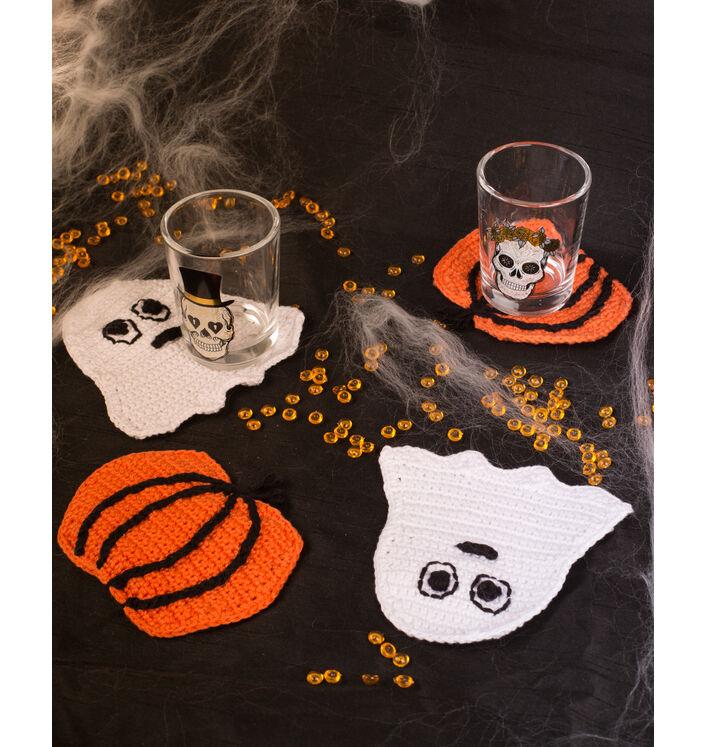 Modèle accessoire - Sous-verres fantomes