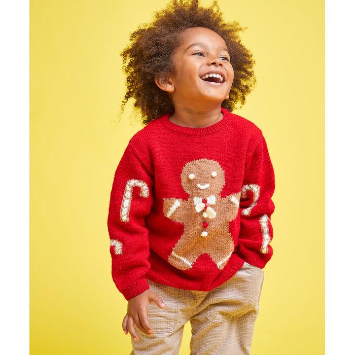 Modèle enfant - Pull Gingerbread