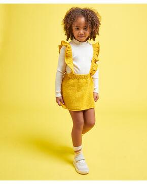 Modèle enfant - Salopette jupe soufre