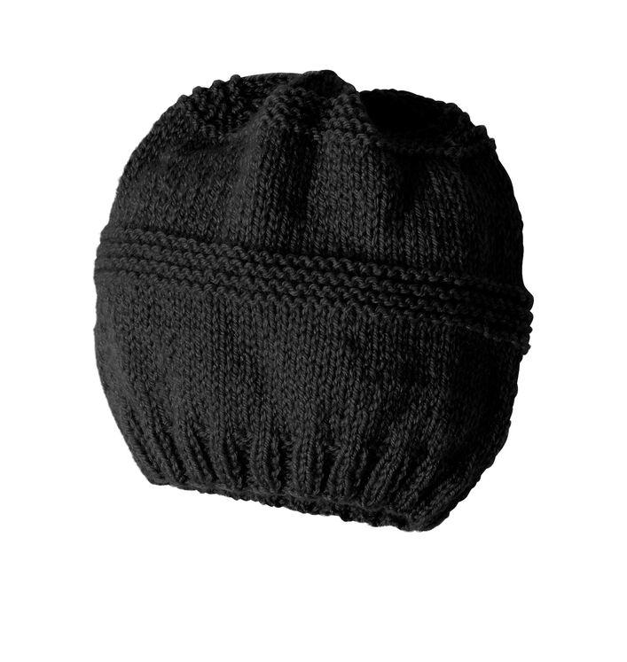 Modèle enfant - Bonnet Noir Noa