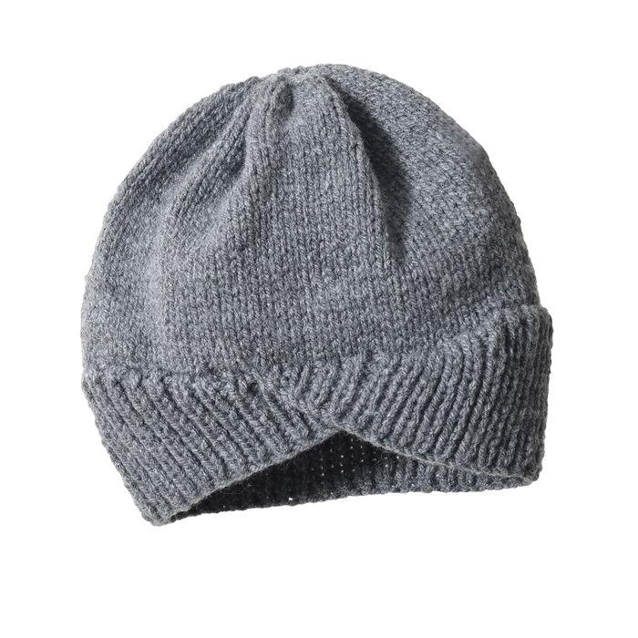 Modèle enfant - Bonnet gris Kacy