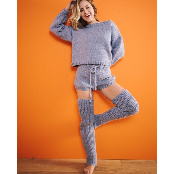 Modèle femme - Guêtres jean's Anaya