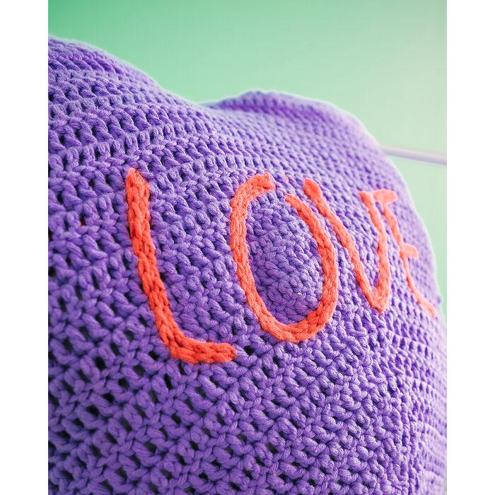 Modèle décoration - Coussins Mood Lover