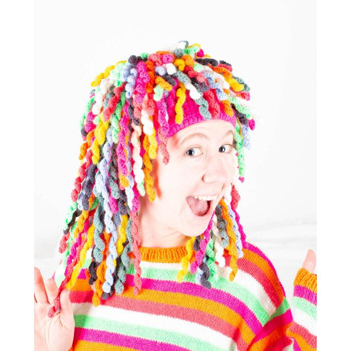 Fiche Modèle accessoire - Perruque Carnaval