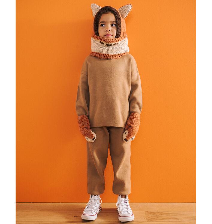 Fiche Modèle enfant - Ensemble Fox