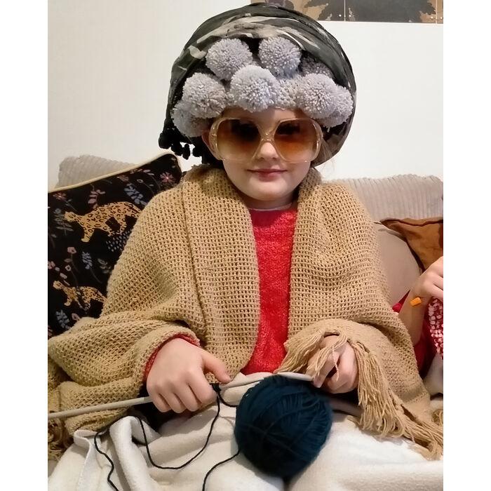 Modèle grand-mère : Perruque Huguette