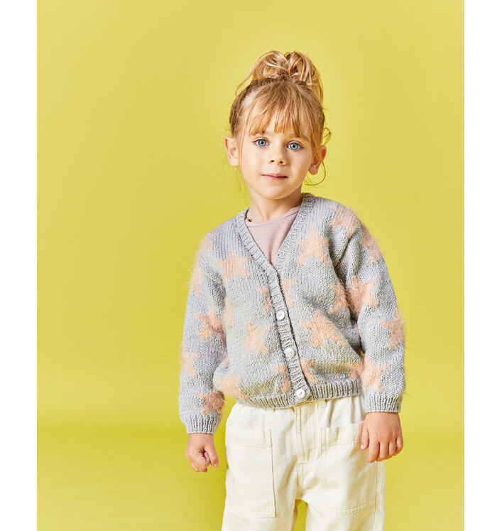 Modèle Enfant - Cardigan STELLA