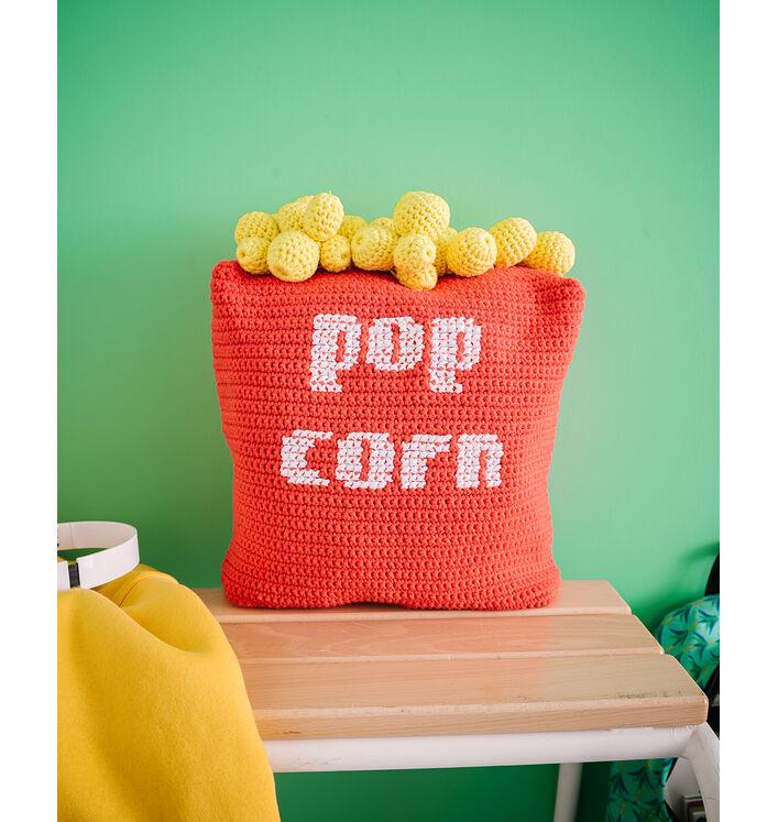 Fiche Modèle Décoration - Coussin Pop Corn