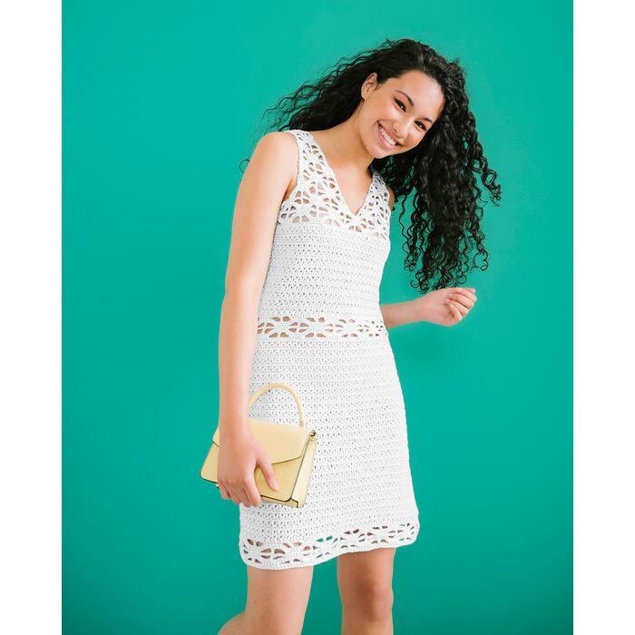 Modèle Femme - Robe Cony Blanc