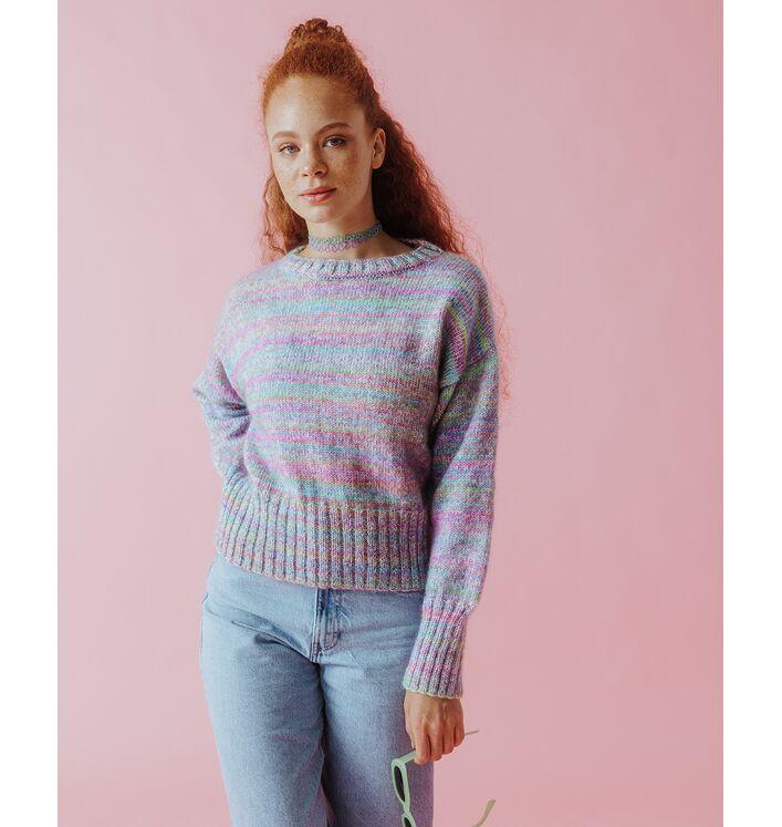 Modèle Femme - Pull Tay