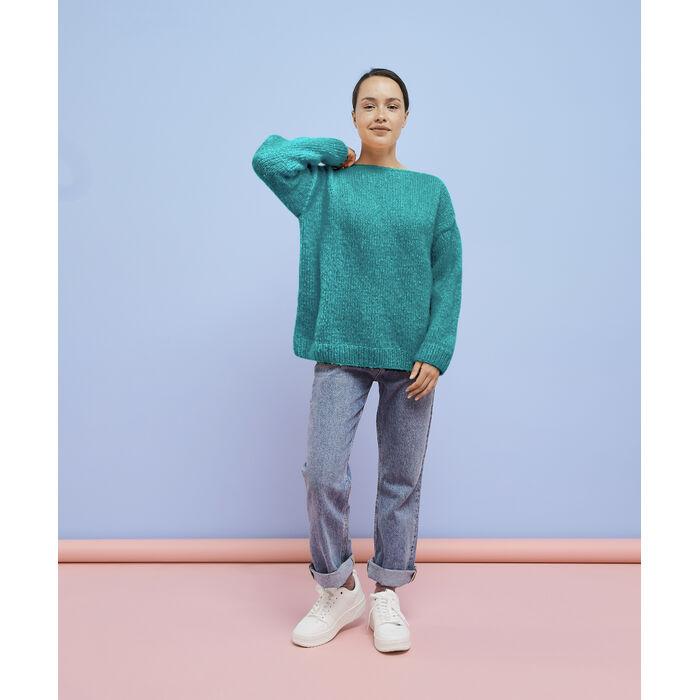 Modèle femme - Pull Andréa Vert