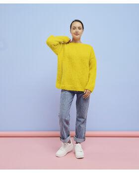 Modèle femme - Pull Andréa limonade