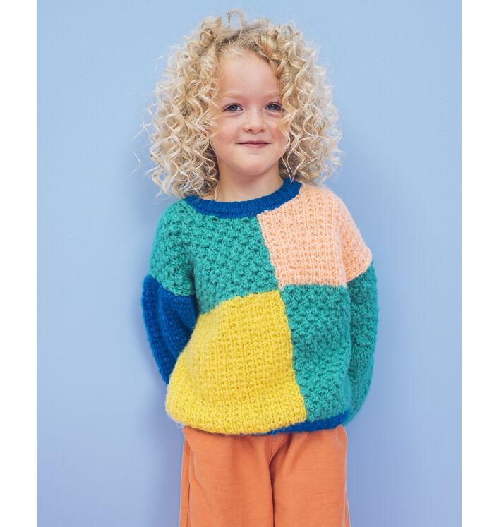 Modèle Enfant - Pull mixte Tilda