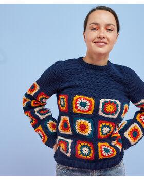 Fiche Modèle Femme - Pull Frida