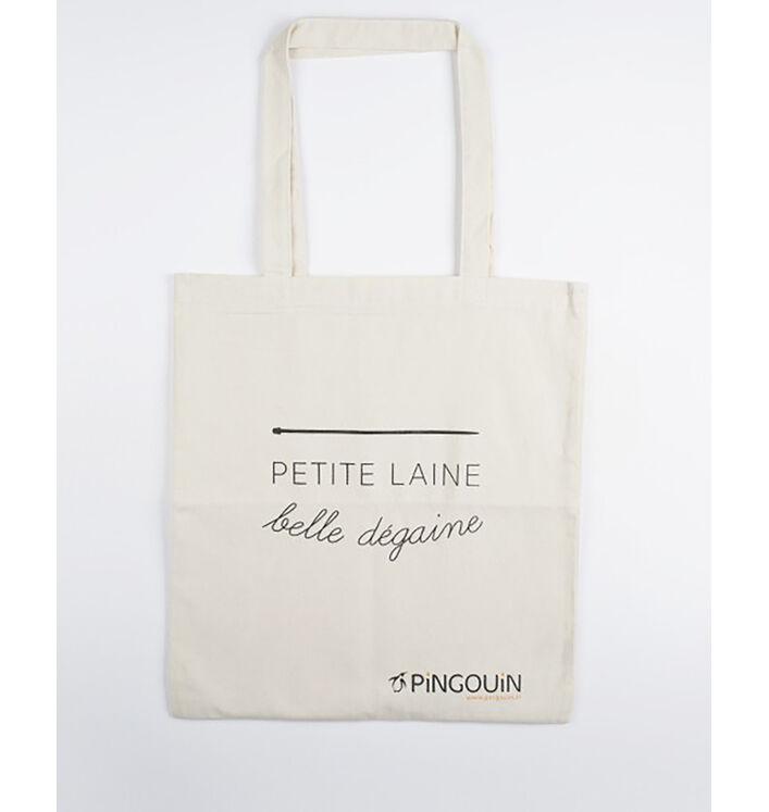 """Tote Bag - """"Petite laine belle dégaine"""""""
